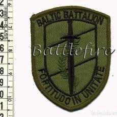 Militaria: KFOR - OPERACIONES EN KOSOVO - BATALLON BALTICO - PARCHE NATO-OTAN. Lote 97883751