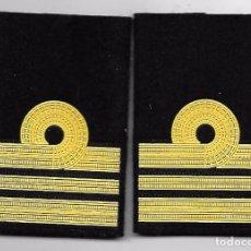 Militaria: HOMBRERAS MANGUITOS ARMADA CAPITAN DE CORBETA. Lote 107541155