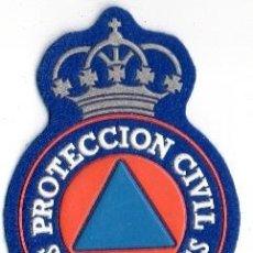 Militaria: PARCHE PROTECCION CIVIL SAN SEBASTIAN DE LOS REYES. Lote 98039819