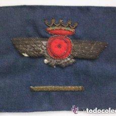 Militaria: ROKISKI DE LA AVIACION NACIONAL BORDADO CON BARRITA DE ANTIGÜEDAD , EPOCA DE FRANCO.. Lote 98509527