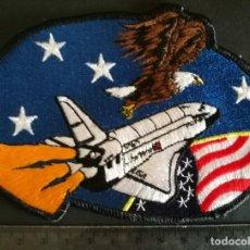 Militaria: PARCHE DE TELA NASA LANZADERA. Lote 98663971