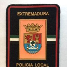Militaria: PARCHE EMBLEMA ESCUDO POLICÍA LOCAL. EXTREMADURA. Lote 98877168