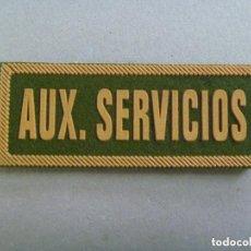 Militaria: PARCHE DE EMPRESA DE SEGURIDAD PRIVADA : AUX. SERVICIOS. Lote 99096967