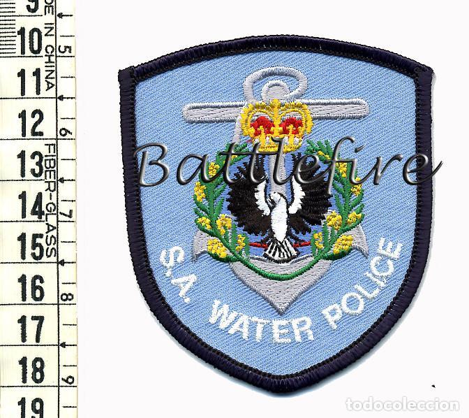 S.A. WATER POLICE - AUSTRALIA - PARCHE POLICIA - UNIDAD MARITIMA (Militar - Parches de tela )