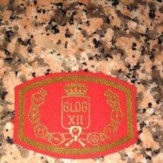 Militaria: PARCHE GRUPO LOGISTICO XII DIVISION ACORAZADA DE BRUNETE BASE EL GOLOSO AÑOS 80. Lote 99435195
