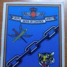Militaria: PARCHE TELA. GRUPO MOVIL DE CONTROL AEREO. GRUMOCA. EJERCITO AIRE. ESPAÑA. Lote 99782879