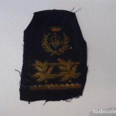 Militaria: * ANTIGUO PARCHE BORDADO DE JEFE DE INGENIEROS, FRANQUISTA. ORIGINAL. ZX. Lote 100208139