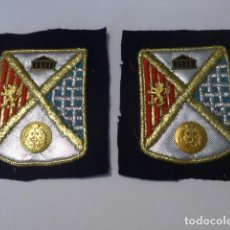 Militaria: * ANTIGUO LOTE 2 PARCHE DE INGENIEROS, ORIGINALES. ZX. Lote 100294047