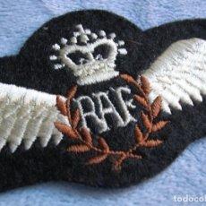 Militaria: BELLO PARCHE DE PILOTO DE LA ROYAL AIR FORCE BRITANICA. RAF.. Lote 101448595