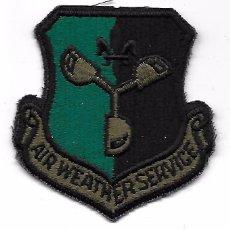 Militaria: PARCHE AVIACION USA USAF AIR WEATHER SERVICE. Lote 103527759