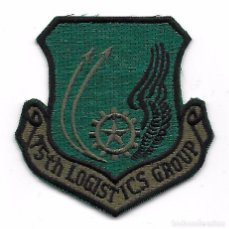 Militaria: PARCHE AVIACION USA USAF 75TH LOGISTICS GROUP. Lote 103528091