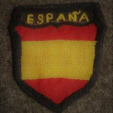 Militaria: PARCHE BRAZO DIVISION AZUL ESCUDO. Lote 103760915