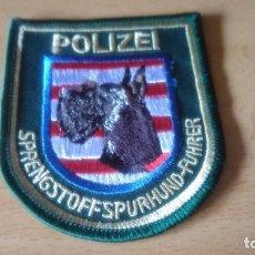 Militaria: POLICE 007. Lote 104005707