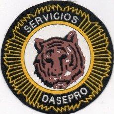 Militaria: PARCHE SEGURIDAD ESPAÑA DASEPRO. Lote 110448172