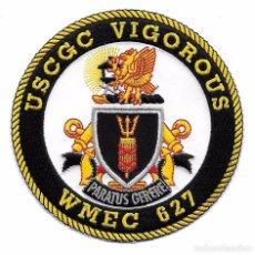 Militaria: PARCHE USCG GUARDA COSTAS USA VIGOROUS WMEC 627. Lote 105479175