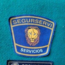 Militaria - Parche seguridad privada Segurservi - 106925571