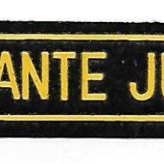 Militaria: PARCHE VIGILANTE JURADO SEGURIDAD . Lote 106938811