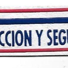 Militaria: PARCHE PROTECCION Y SEGURIDAD . Lote 106938887