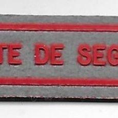Militaria: PARCHE VIGILANTE DE SEGURIDAD . Lote 108442876
