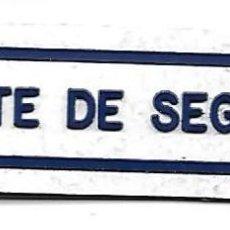 Militaria: PARCHE VIGILANTE DE SEGURIDAD. Lote 289396358