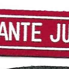 Militaria: PARCHE VIGILANTE JURADO SEGURIDAD . Lote 106939227