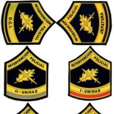 Militaria: CUERPO NACIONAL DE POLICIA (13 PARCHES). Lote 110138136