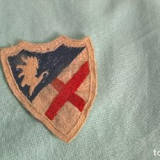 Militaria: PARCHE BORDADO. CUERPO EJERCITO DE ARAGON ..GUERRA CIVIL..ORIGINAL.EMBLEMA. Lote 108869471