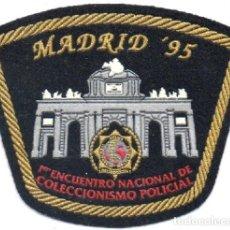 Militaria: PARCHE POLICIA IPA MADRID. Lote 172958463
