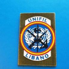 Militaria: PARCHE MISION UNIFIL. LIBANO LEGION ESPAÑOLA. Lote 263682935