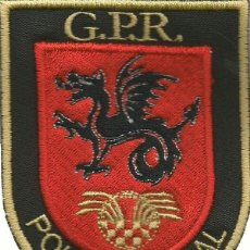 Militaria: PARCHE GRUPO DE PREVNCIÓN Y RESPUESTA DE LA POLICÍA LOCAL DE MELILLA GPR BORDADO. Lote 110146027