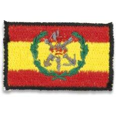 Militaria: ESTUPENDO PARCHE DE LA LEGIÓN ESPAÑOLA DE BRAZO CON VELCRO MEDIDAS 5,5 X 3,5 CMTS. Lote 126444920