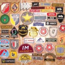 Militaria: 50 PARCHES DE EMPRESAS DE SEGURIDAD Y SERVICIOS DE ESPAÑA. Lote 111296247