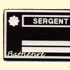 Militaria: SERGENT BOMBERS GENERALITAT - PARCHE BOMBEROS - SARGENTO. Lote 111640831