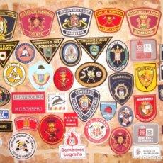 Militaria: LOTE DE PARCHES DE BOMBEROS DE ESPAÑA. Lote 158089860