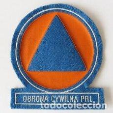 Militaria: PARCHE PROTECCIÓN CIVIL, POLONIA (805). Lote 112640643
