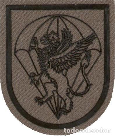 PARCHE EMBLEMA BATALLÓN CUARTEL GENERAL BRIPAC NBQR VERDE (Militar - Parches de tela )
