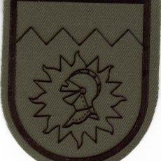 Militaria: PARCHE EMBLEMA FUERZA LOGÍSTICA TERRESTRE VERDE. Lote 221647787