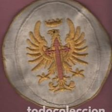 Militaria: PARCHE DE TELA MILITAR - MEDIDA 12 DE DIAMETRO - BORDADA - ?. Lote 113510095