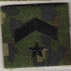 Militaria: PARCHE EMBLEMA CHANDAL SUBTENIENTE PIXELADO VERDE. Lote 113914587