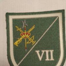 Militaria: PARCHE EMBLEMA SARGA LEGIÓN SÉPTIMA BANDERA TERCER TERCIO. Lote 113982022