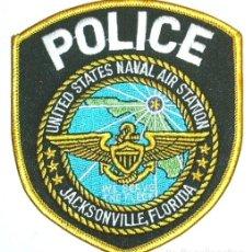 Militaria: PARCHE POLICIA NAVAL MILITAR USA JACKSONVILLE. Lote 178110883