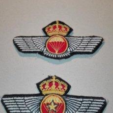 Militaria: PAR DE DISTINTIVOS DE PARACAIDISTA. Lote 114726403
