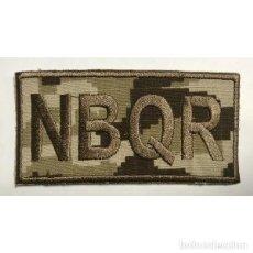 Militaria: ESTUPENDO PARCHE BORDADO EN ÁRIDO PIXELADO DEL NRBQ DE 10 X 5 CMTS CON VELCRO . Lote 114981503