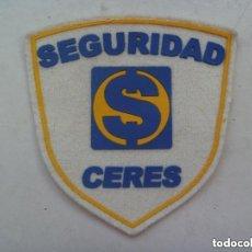 Militaria: PARCHE DE EMPRESA DE SEGURIDAD PRIVADA : SEGURIDAD CERES. Lote 134025285