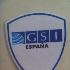 Militaria: PARCHE DE EMPRESA DE SEGURIDAD PRIVADA : GRUPO GSI ESPAÑA. Lote 288588468