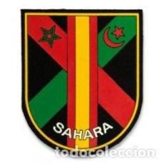 Militaria: ESTUPENDO PARCHE DEL SAHARA MEDIDAS 8 X10 CMTS EN EXCELENTE CALIDAD. Lote 117079367
