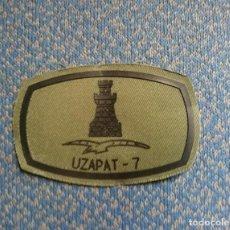 Militaria: PARCHE BRILAT UZAPAT 7. Lote 125921120