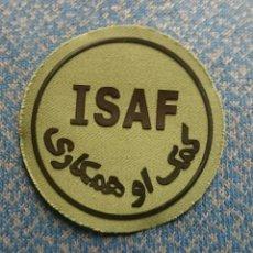 Militaria: PARCHE BRILAT ISAF. Lote 187175858