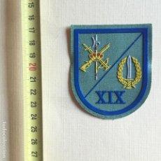 Militaria: LEGIÓN ESCARAPELA SARGA XIX BANDERA BOEL. Lote 194975666