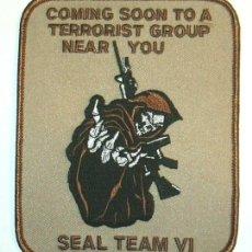 Militaria: PARCHE SEAL TEAM VI ANTITERRORISTA. Lote 120309451